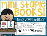 Long Vowels Mini Staple Books