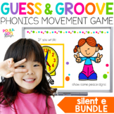 Long Vowels Movement Game BUNDLE for Google(TM) & PowerPoi