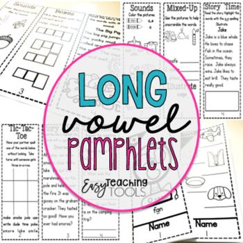 Long Vowels (Pamphlets FREE)