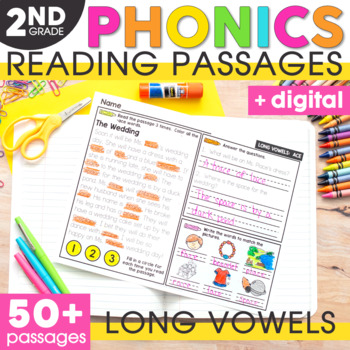 Long Vowels Phonics Mats
