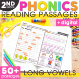 Long Vowels Phonics Mats 2nd Grade