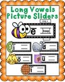 Long Vowels Picture Sliders Set