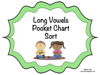 Long Vowels Pocket Chart Sort