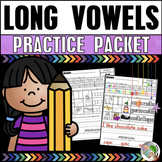 Long Vowels Practice Packet