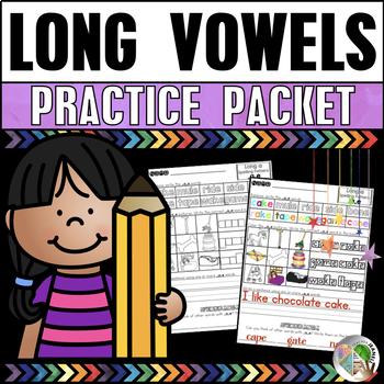 Long Vowels Practice Packet