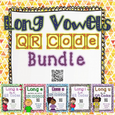 Long Vowels QR Codes Bundle