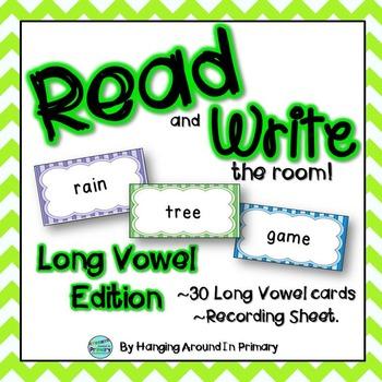Long Vowels Literacy Center