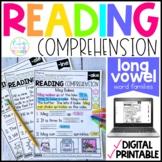 Long Vowels Reading Comprehension Passages | Distance Lear