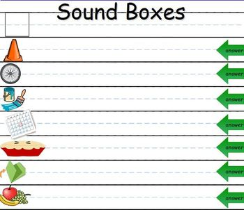 Long Vowels Review Unit for the SMART Board