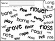 Long Vowels Search and Circle Sheets