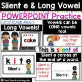 Long Vowels & Silent E PowerPoint | Distance Learning PowerPoint