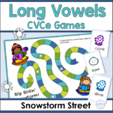 CVCe Long Vowel Winter Games