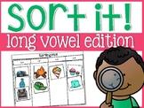 Long Vowels Sort It