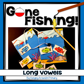 Long Vowels Sorting Center - Gone Fishing!