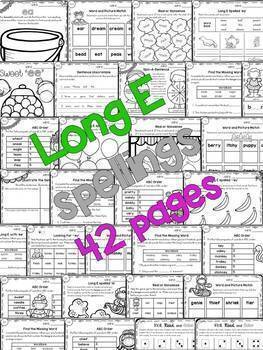 Long Vowels -  BUNDLE