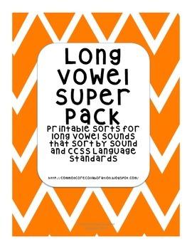 Long Vowels  -Super Sort Pack