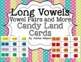 Long Vowels: Vowel Teams and More Candy Land Cards