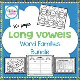 Long Vowels Word Families Bundle