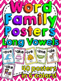 Long Vowels Word Families Posters