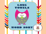Long Vowels Word Sort