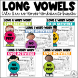 Long Vowels Word Work Activities