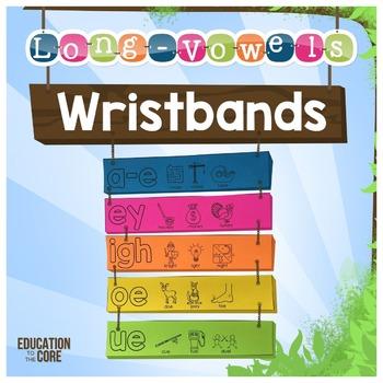 Long Vowels Wristbands   Long Vowels Activities