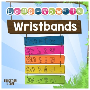 Long Vowels Wristbands