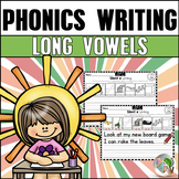 Long Vowels Writing Worksheets - Vowel Team Writing