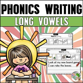 Long Vowels Writing Worksheets - Vowel Team Writing