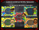 Long Vowels a, e, i, o, and u Power Point Bundle Distance Learning