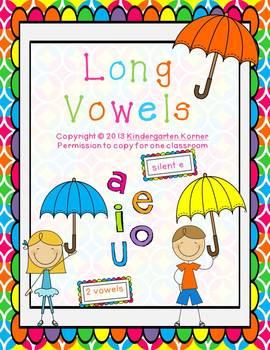 Long Vowels - a,e,i,o,u