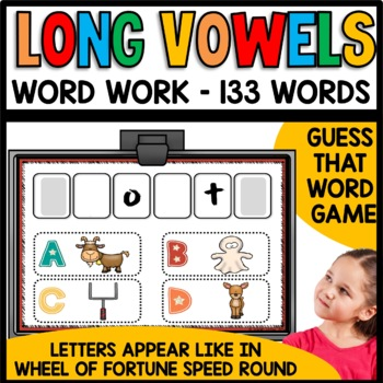 Long Vowels (ai, ay, ea, ee, ey, ie, y, igh...)