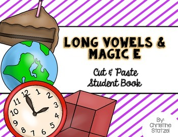Long Vowels and Magic E Cut & Paste Student Book