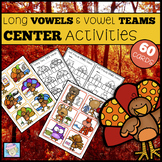 Thanksgiving Writing Activities 1st Grade 2nd Grade Kindergarten Vowel Teams