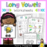 Long Vowels and Vowel Teams Workbook *NEW*