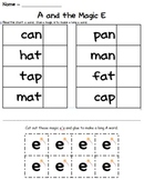 Long Vowels with Magic E Cut n Glue