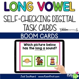 Long Vowels with Silent e - Digital Task Cards | Boom Card
