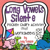 Long Vowels with Silent e (Pocket Chart Activity and Worksheets)