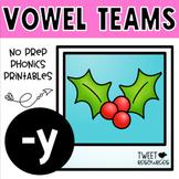 Long Vowels 'y' {Long E}