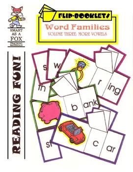 More Vowels Flip Books
