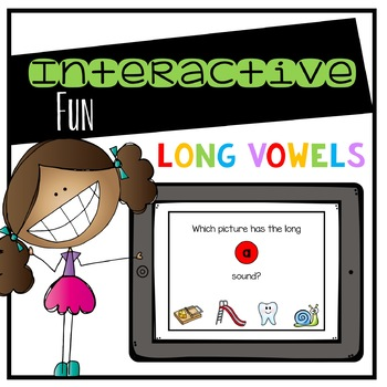 Long Vowels Digital Interactive Fun (Digital Classroom)