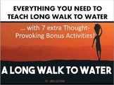 Long Walk to Water Unit Bundle (Everything You Need)