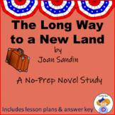 Long Way to a New Land Novel Study Notebook