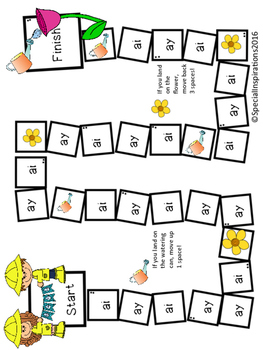 Long a Board Game Bundle Orton-Gillingham Inspired
