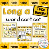 Long a CVCe Word Sorts Bundle