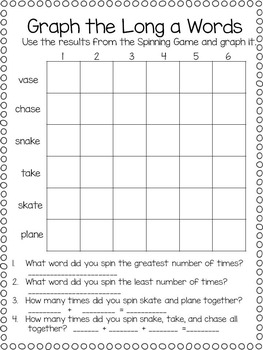 Long a, Centers and Printables, Integrated with all subjects