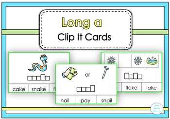 Long a Clip It Cards