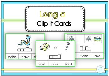 Long a Clip It Cards