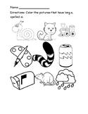 Long a Diagraph worksheets