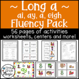 Long a Fluency Pack (ai, ay, a, and eigh)